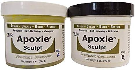 APOXIE SCULPT Pink Color 1 pound