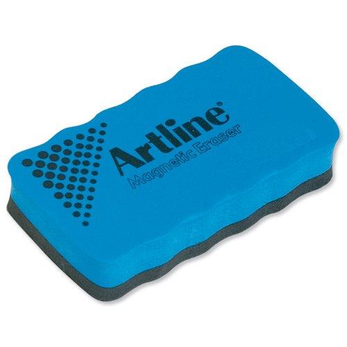 Artline Drywipe Whiteboard Eraser Magnetic for Magnetic Boards Blue Ref ERTMMBLU