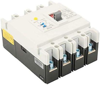 WXQ-XQ サーキットブレーカー、3P + N残留電流回路ブレーカRCCBエアスイッチ800V 63A / 80A / 125A(63A) 遮断器