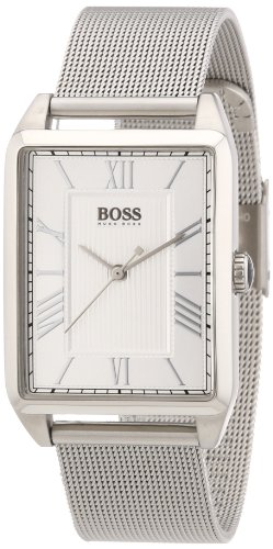 Hugo Boss Black Edition Silver Dial Stainless Steel Mesh Ladies Watch 1502255