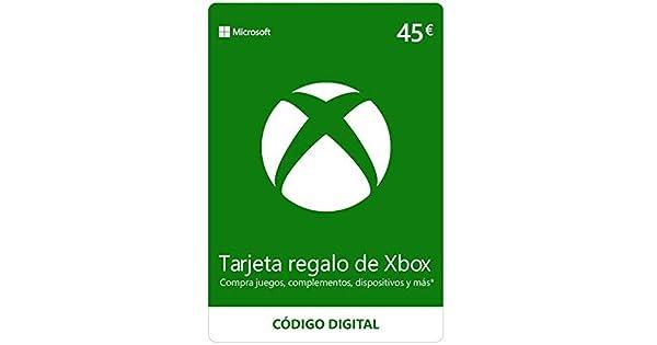 Xbox Live - 45 EUR Tarjeta Regalo [Xbox Live Código Digital ...
