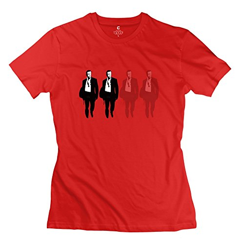 daniel-craig-geek-o-neck-red-t-shirts-for-womens-size-l