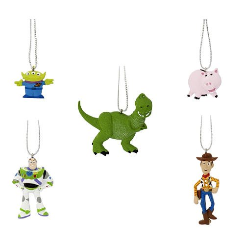 Toy Story 5-piece Christmas Ornament Set ()
