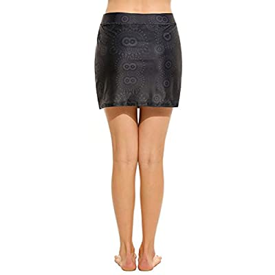 VivilY Women's Running Skirt Active Athletic Skorts Tennis Golf Workout: Clothing