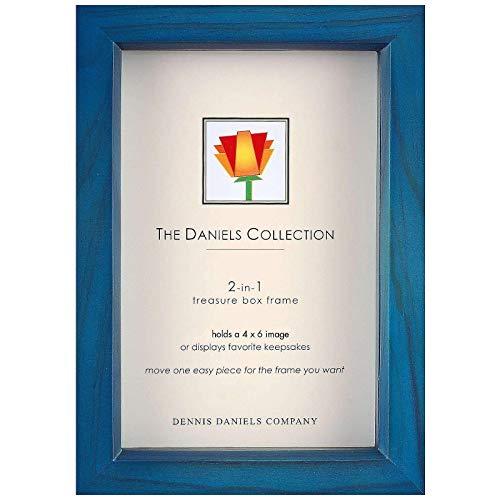 Dennis Daniels Treasure Box Picture Frame, 4 x 6 Inches, Ocean Blue]()