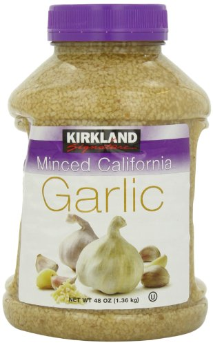 Kirkland Minced California Garlic, 48 oz