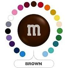 M&M's Brown Milk Chocolate Candy 1LB Bag