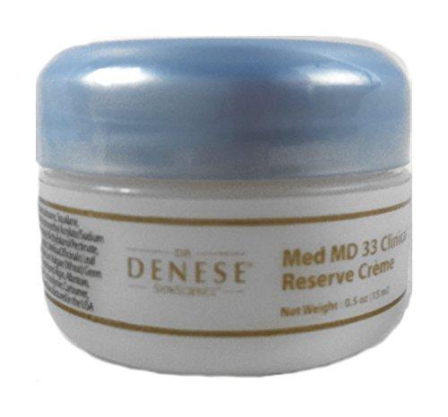 Dr. Denese Med Md 33 Clinical Reserve Creme 0.5 Oz Travel Size