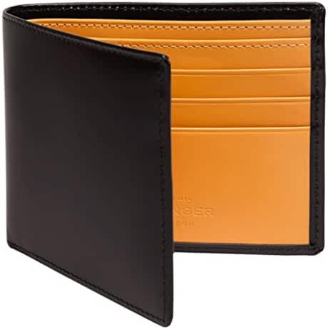 Ettinger Men's Bridle Hide Billfold Wallet with 6 Credit Card Slips