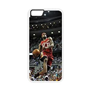 """Hard Plastic Cover NBA Cleveland Cavaliers LeBron James Phone Case Protective Case 204 For Apple Iphone 6,4.7"""" screen Cases At ERZHOU Tech Store"""