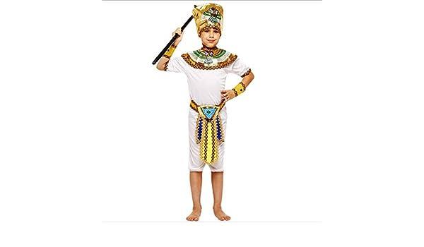 LJYA Día del niño Faraón Egipcio Ropa Princesa Masculina y ...