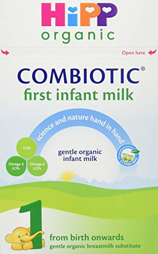 HiPP Organic Combiotic First Infant Milk 1 From Birth Onwards (Case of 4 x 800g boxes)