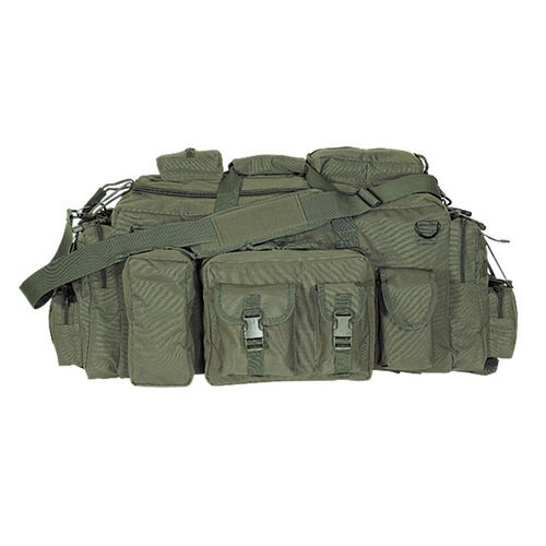 VooDoo Tactical 15-9685004000 Mojo Load-Out Bag With Backpack Straps, Olive Drab