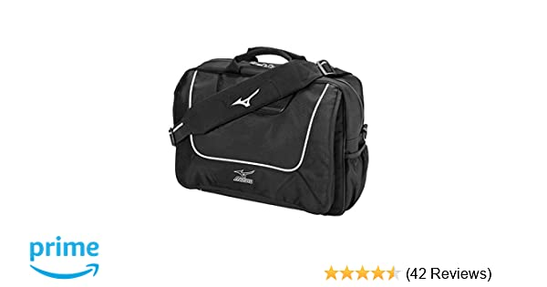 0db982e720 Amazon.com : Mizuno Coaches Briefcase (Black, 16x12x5-Inch) : Baseball  Equipment Bags : Sports & Outdoors