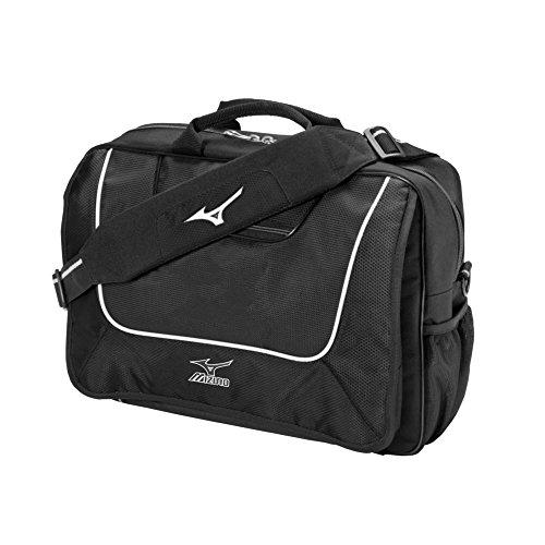 Baseball Briefcase (Mizuno Coaches Briefcase (Black, 16x12x5-Inch))