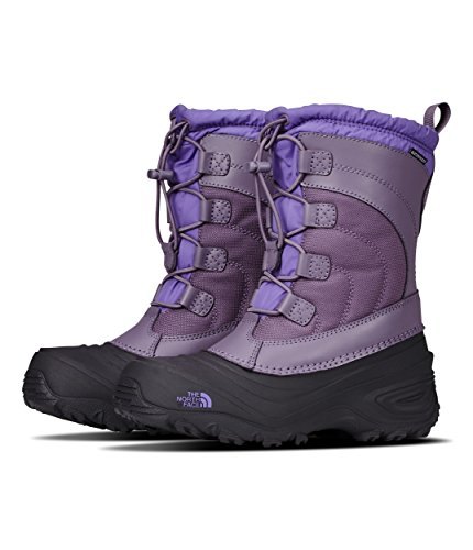 - The North Face Youth Alpenglow IV Hiking Boots - Kid's Purple Sage/Dahlia Purple 3