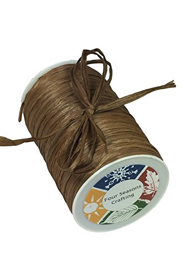 Four Seasons Crafting Matte Finish Raffia Ribbon 1/4
