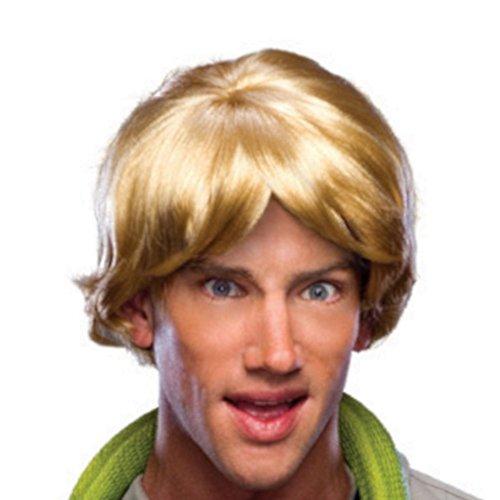 MyPartyShirt Blonde Mens Wig