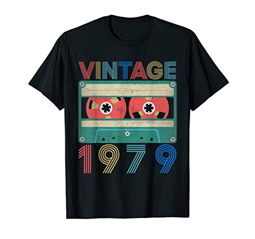 40th Bday Party Ideas For Him (1979 Vintage 40th Birthday Gifts Ideas T-shirt Him)