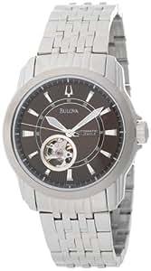 Bulova Men's 96A101 Automatic Self-Winding Mechanical Exhibition Caseback Bracelet Watch