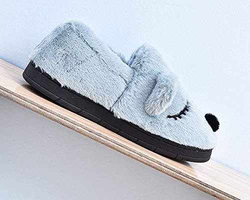 Bébé Chausson Antidérapant Chaud Blue Peluche Chaussures Homme Maison Garçon Enfant Fille Pantoufles Hiver ZiXing Chaussures Femme zwa1qfd