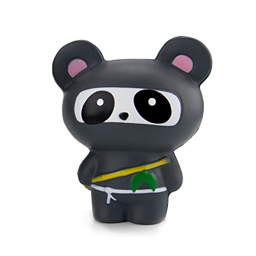 BeYumi Panda Ninja Squishy Cream Scented Slow Rising Toy Soft Cute Simulation Animal Squeeze Toys for Collection Gift, decorative props Large or Stress Relief (Animal Simulation)