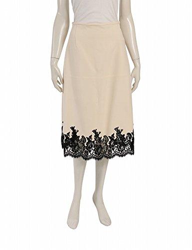 fd681ad3b463 Amazon | (セリーヌ) CELINE スカート 裾レース ウール シルク ベージュ 黒 中古 | スカート 通販