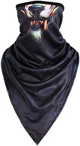 Windproof Ski Mask -3D Print Ears Animal Balaclava Face Outdoor Motorcycle Neck Warmer Thermal Scarf