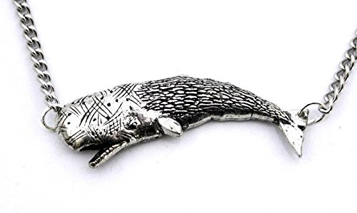Fine English Pewter Whale Charm with Chain (Gift Boxed) ()