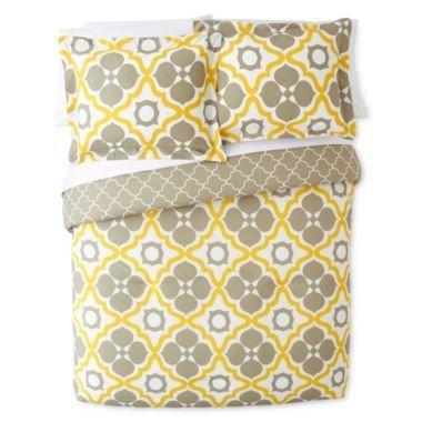 happy-chic-3pc-full-queen-duvet-cover-set-large-moroccan-tiles-quatrefoil-reversible-lattice-yellow-