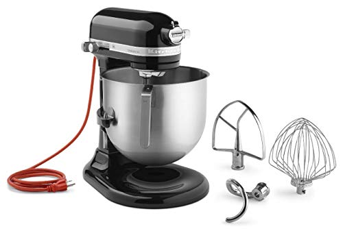 - KitchenAid KSM8990OB 8-Quart Commercial Countertop Mixer, 10-Speed, Gear-Driven, Onyx Black