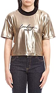 Camiseta Metalizada, Colcci Fun, Meninas