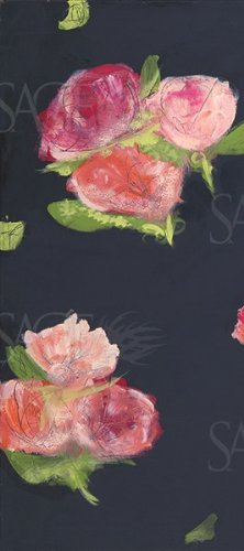 amazon com roses on black i by melissa lyons 8 x18 art print
