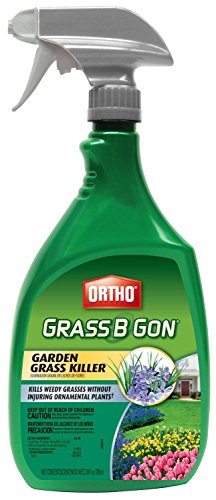 Scotts Ortho Roundup 0438580 Grass-B-Gon Garden Grass Killer, 24-oz. Ready-to-Use - Quantity - Grass Landscape