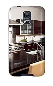 Awesome RZoqXjU2842frPzY ManuelAW Defender Tpu Hard Case Cover For Galaxy S5- Walnut And Stainless Steel Modern Kitchen