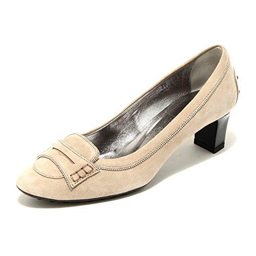Scarpe Donna Shoes Women Decollete Tod's Beige 43139 wFpZx1qtcE