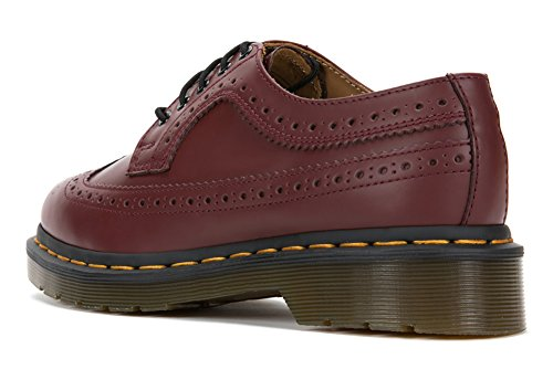 Dr. Martens 3989 Gele Stitch Oxford Schoenen, R22210 (uk 5 (us Womens 7), Cherry Red)