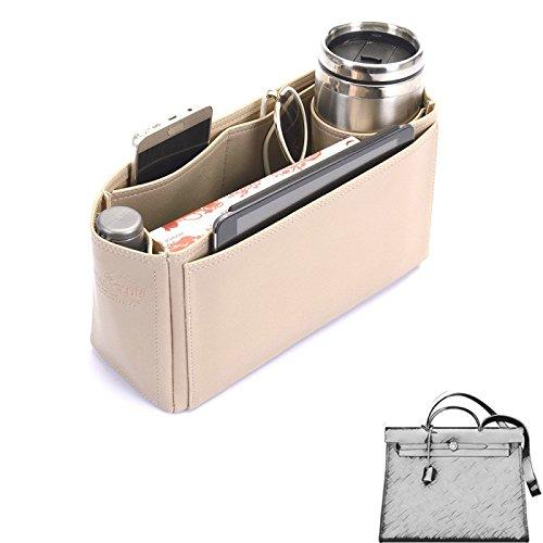 10101952602c Herbag 31 Deluxe Leather Handbag Organizer