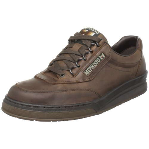 Mephisto Men's Match Walking Shoe,Dark Brown Vintage,9.5 M US