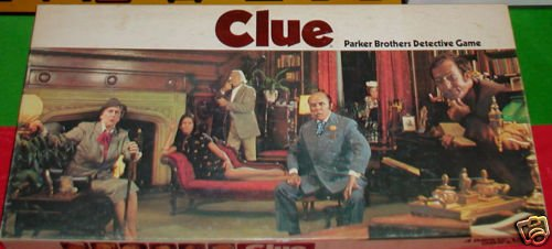 Clue Parker Brothers Detective Game [1972 Edition) from General Mills