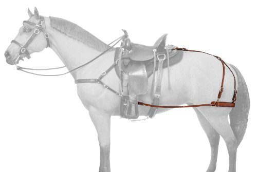 Tough-1 Leather Mule Breeching by Tough 1