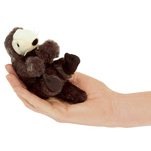 Folkmanis Mini Sea Otter Finger Puppet (Otter Puppet Finger)