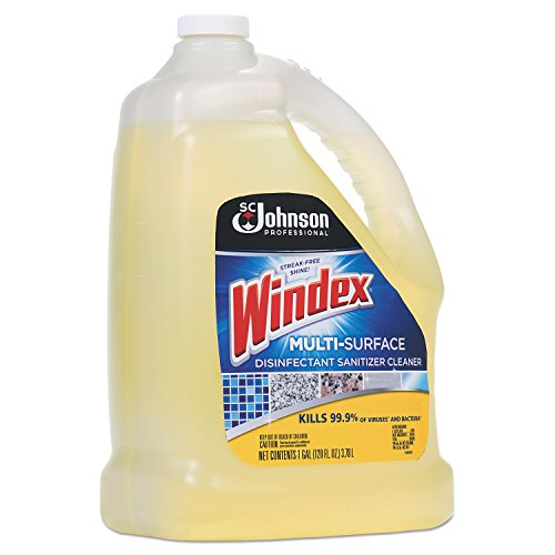 Windex 657067 T Multi-Surface Disinfectant Cleaner, Citrus, 1 gal Bottle (Case of 4) by Windex (Image #2)