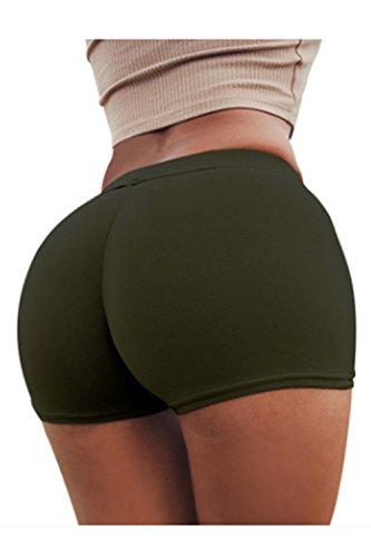 yulinge Donne Lo Sport Estate Palestra Di Allenamento Di Yoga In Pantaloncini Corti Slim 6