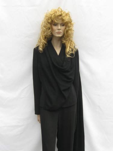 Cashmere Pashmina Group: Cashmere Scarf Shawl Stole Wrap (Sweater Knit Cashmere Shawl) Black by Cashmere Pashmina Group (Image #3)