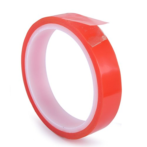 Length 5m x Wide 19mm Double Sided Tubular Gluing Tape for Road Bike Bicycle Tires wheels (Tire Tape Gluing Tubular)