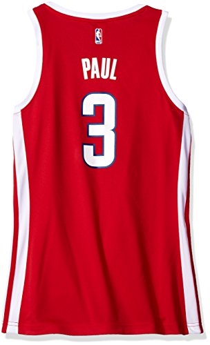 NBA Women's Los Angeles Clippers Chris Paul Replica Player Away Jersey, Large, Red ()