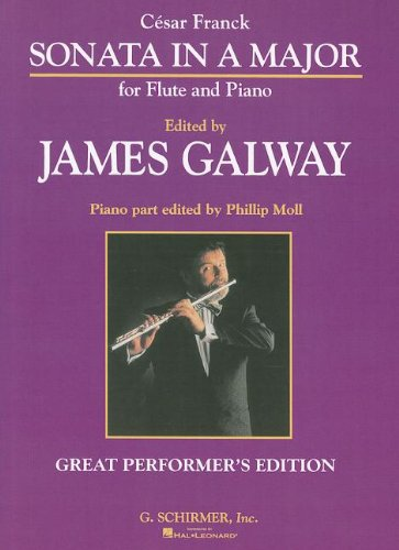 Franck: Sonata in A Major for Flute and Piano (Great Performer's Edition)