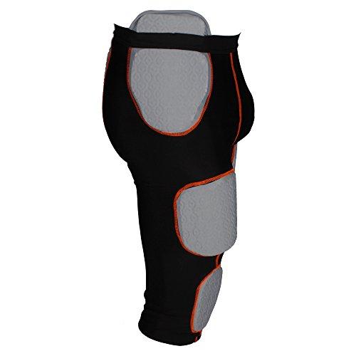 De Athletics Intégrée combinaison nbsp; Pantalon 7 American nbsp;pads Active Football Sous 7fgHq