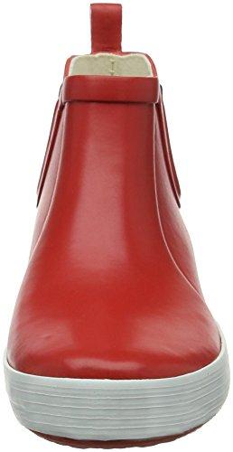 Rojo Botas Agua Para white Chelsea De Malouine Mujer Aigle red IZEwq0W
